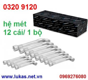 Pipe Head Spanners set 12pcs
