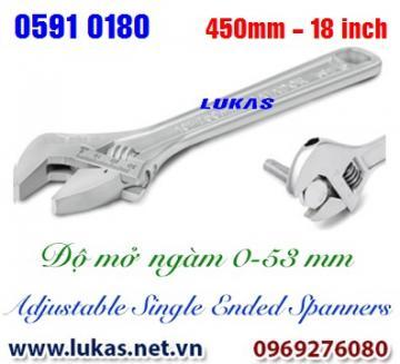 Mỏ lết thường size 450mm, 18 inch - 0591 0180