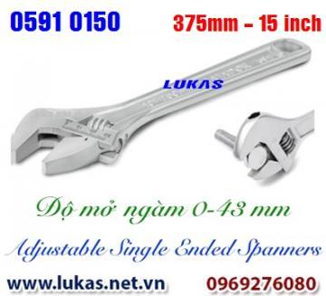 Mỏ lết thường size 375mm, 15 inch - 0591 0150