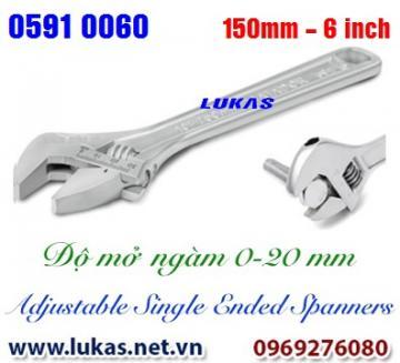 Mỏ lết thường 150mm, 6 inch - 0591 0060