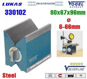 Khối V-Block 80x67x96mm - Thép rèn - 330102 - Vogel - Germany
