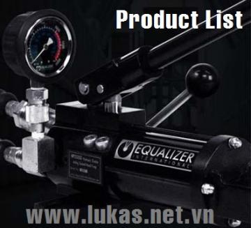 Danh mục dụng cụ tách mặt bích, căn chỉnh mặt bích Equalizer International UK