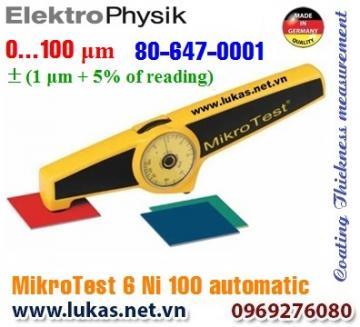 Đo độ dày lớp phủ MikroTest 6 Ni100 Automatic, 80-647-0001
