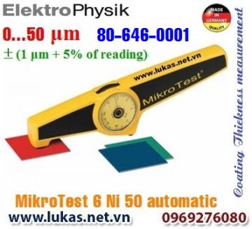 Đo độ dày lớp phủ MikroTest 6 Ni50 Automatic, 80-646-0001