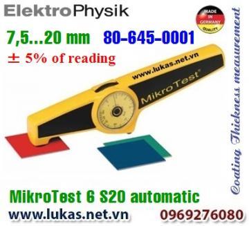 Đo độ dày lớp phủ MikroTest 6 S20 Automatic, 80-645-0001