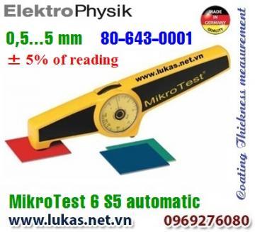 Đo độ dày lớp phủ MikroTest 6 S5 Automatic, 80-643-0001