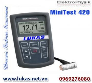 Máy đo độ dày vật liệu MiniTest 420, MiniTest 420, ElektroPhysik