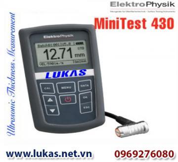 Máy đo độ dày vật liệu MiniTest 430, MiniTest 430, ElektroPhysik