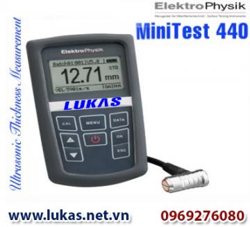 Máy đo độ dày kim loại xuyên lớp phủ - đo thành, MiniTest 440, ElektroPhysik