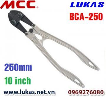 Kìm cắt cộng lực tay cầm bằng nhôm 250mm - BCA-250 MCC Japan