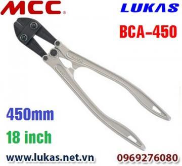 Kìm cắt cộng lực tay cầm bằng nhôm 450mm - BCA-450 MCC Japan