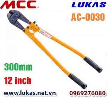 Kìm cộng lực lưỡi cắt nghiêng góc 30 độ - AC-0030 - MCC Nhật