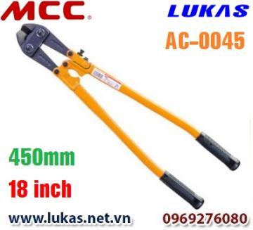 Kìm cộng lực lưỡi cắt nghiêng góc 30 độ - AC-0045 - MCC Japan