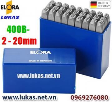 Các bộ đục chữ ELORA 400B series từ 2mm đến 20mm