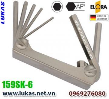 Bộ lục giác hệ inch 6 cây từ 1/8 inch đến 5/16 inch - ELORA 159SK-6