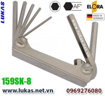 Bộ lục giác hệ inch 6 cây từ 3/32 inch đến 3/8 inch - ELORA 159SK-8