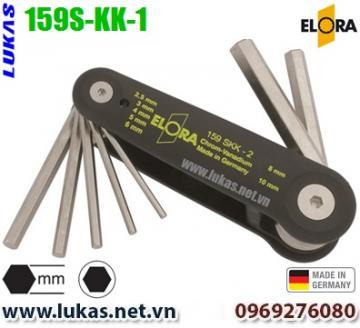 Bộ lục giác hệ mét 6 cây từ 2.5mm đến 8mm - ELORA 159S-KK-1
