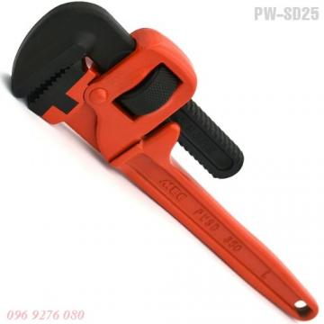 Mỏ lết răng 250mm - 10 inch, Pipe wrench PW-SD25, MCC Japan.